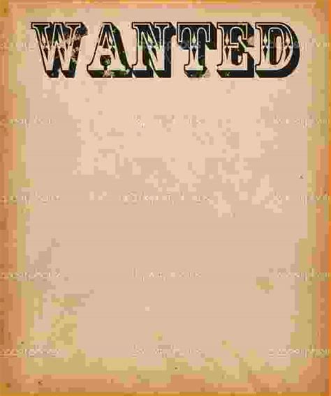 5 wanted sign template teknoswitch