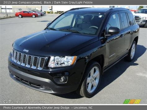 jeep compass limited black black 2013 jeep compass limited slate gray light