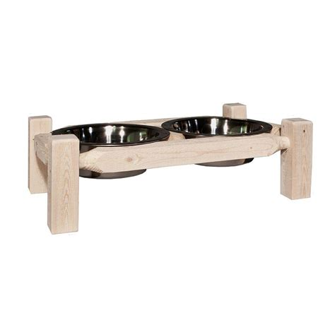 montana woodworks montana woodworks homestead collection lacquered large pet