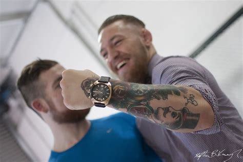 conor mcgregor tattoo conor mcgregor at the opening of the new blast