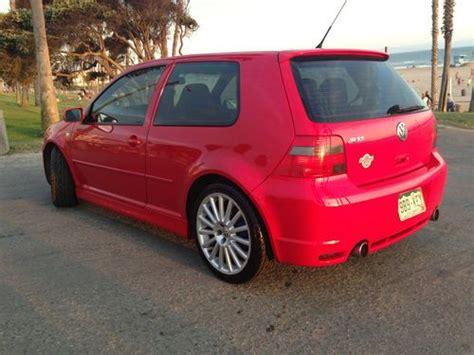 purchase   volkswagen golf  rare awd  speed manual garaged immaculate mk