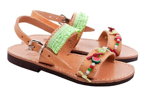 Handcrafted Sandals - fruity s handmade sandals by iris