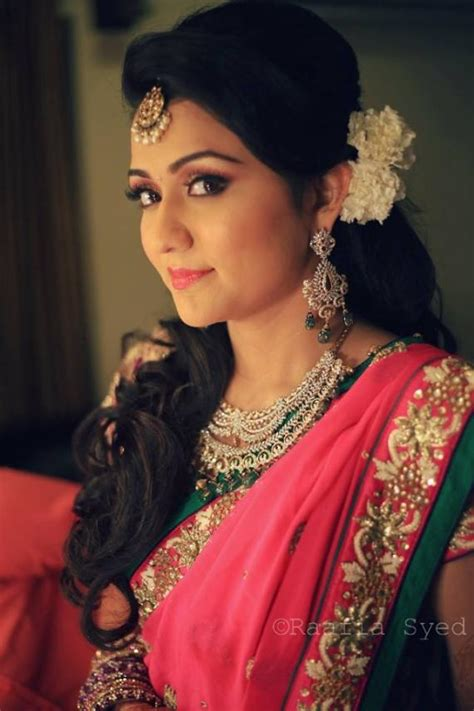 hairstyles for south indian engagement longhairdon tcare 20 floral hair inspirations for the