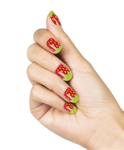 goedkope nep nagels set nepnagels strawberry overige goedkope themakleding