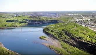 Update mn dot picks high bridge over mine pit for hwy 53 minnesota