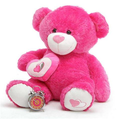 large teddy bears buy pink 3 5 big teddy with a