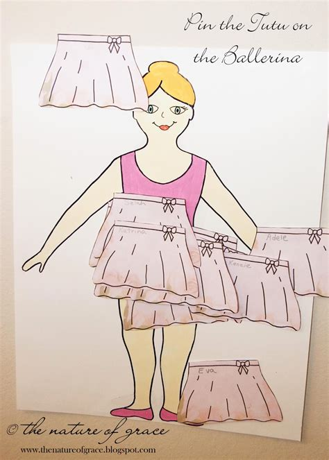 pin the tutu on the ballerina template gallery templates