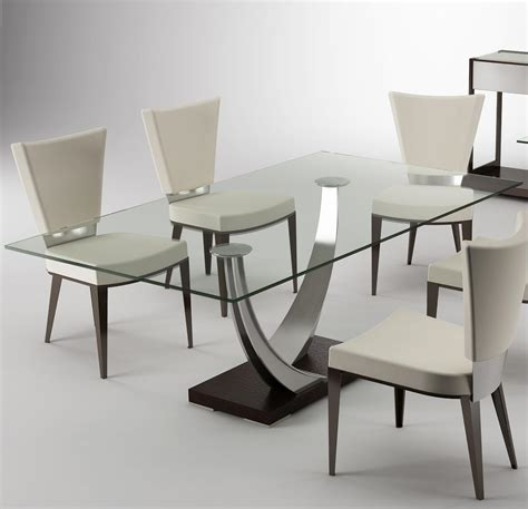 chairs and tangent table by elite modern