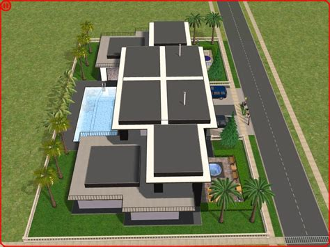 sims 2 floor plans sims 2 modern house plans house plans