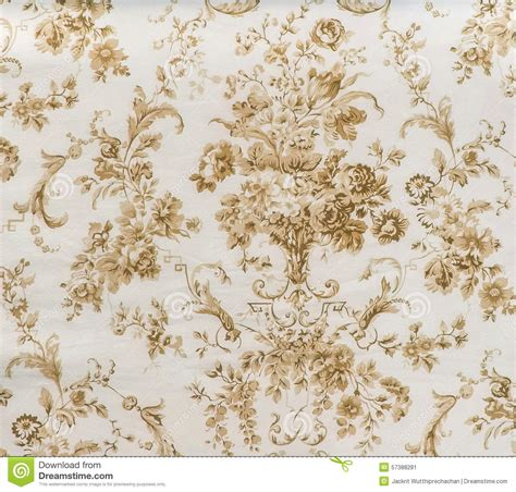 floral pattern vintage fabric retro lace floral seamless pattern sepia brown fabric