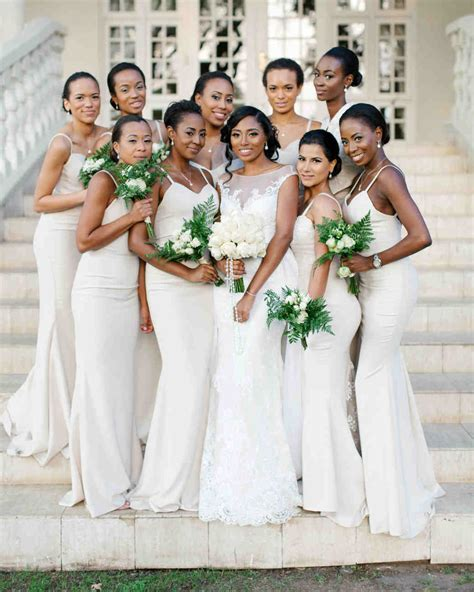 20 Best Dressed Bridal Parties from Real Weddings   Martha