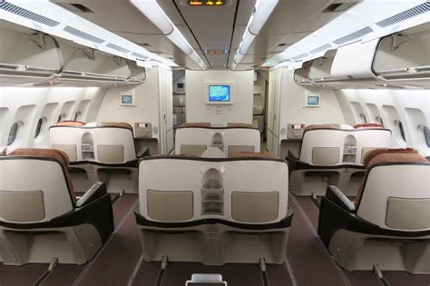Iberia Cabin by Review Iberia A340 Business Class To Madrid