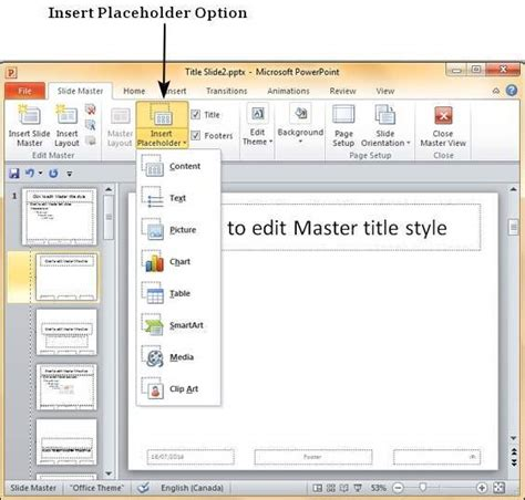 how to create a master template in powerpoint using slide master in powerpoint 2010