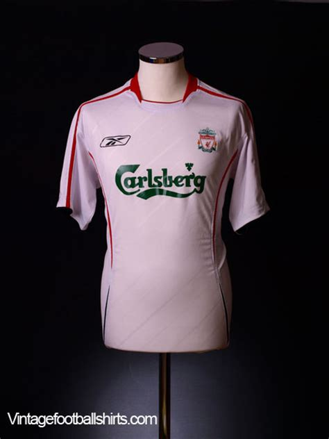 Jersey Liverpool Away 20042005 Sleeve 2005 06 liverpool away shirt alonso 14 m for sale