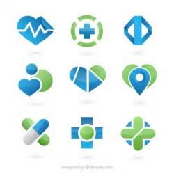 medicine templates free flat logo templates vector free