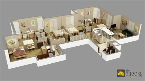3d architectural floor plans 3d floor plan rendering an effective way to have