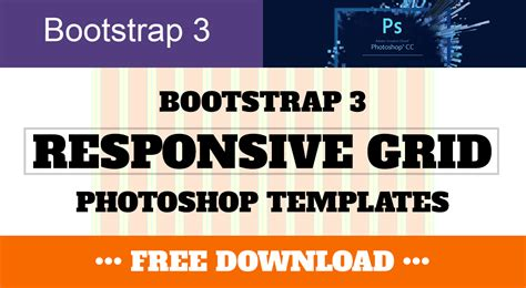 bootstrap 3 templates bootstrap 3 responsive grid photoshop templates psd