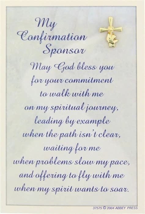 Gift Confirmation Letter Confirmation Sponsor Gift Pin And Card Ab1128