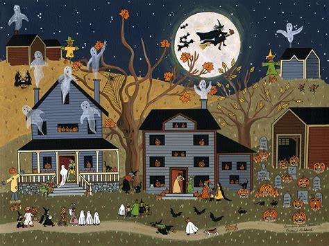 Santa Fe House Plans brandon s first halloween painting by medana gabbard