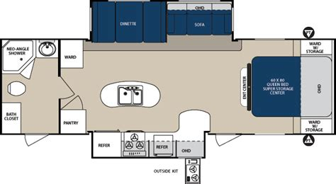 surveyor rv floor plans surveyor travel trailer by forest river