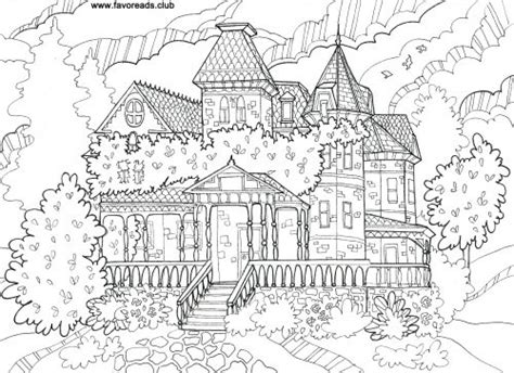 mansion house coloring pages free printable coloring pages for adults adult coloring