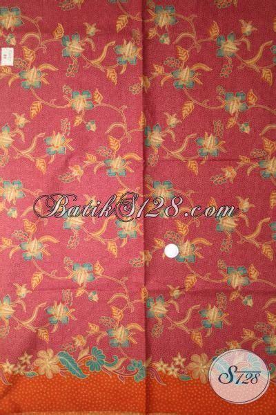 Kain Batik Print Halus 12 batik kain halus warna merah motif unik dan menarik batik print lasem kwalitas lebih halus