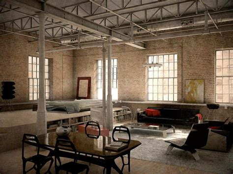 industrial loft by denisvema on deviantart 17 best images about loft love on pinterest studio