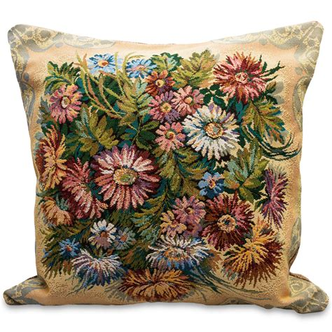 tapestry pillows for couch chrysanthemums decorative tapestry throw pillow product