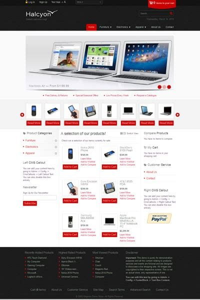 magento store templates 17 best images about ecommerce templates on