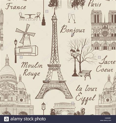 seamless european pattern travel paris seamless pattern vacation in europe