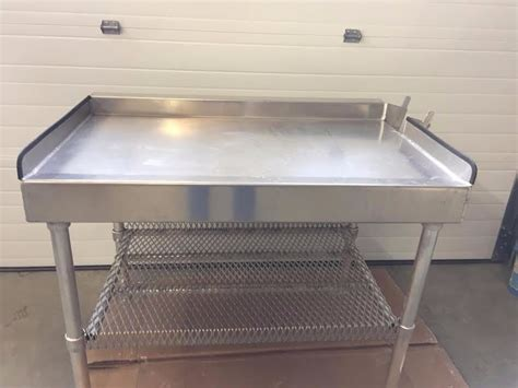 aluminum fish cleaning table 6 aluminum fish cleaning table