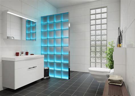 dusche mit glasbausteinen light my wall lmw duschabtrennung beleuchtete