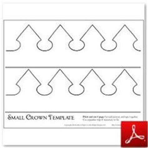 pattern for a paper crown make a crown template templates pinterest crown template