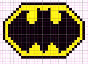 how to make minecraft pixel templates batman logo minecraft pixel template minecraft pixel