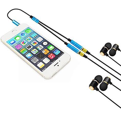 Mic And Headphone U Shape 3 5mm Y Splitter headset adapter kit afunta u shape 3 5mm y splitter for