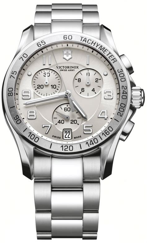 Swiss Army Sa0126 Silver Black List White swiss army chrono classic s model 241499