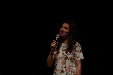 melissa villasenor comedian melissa villase 241 or s impressions keep students laughing at
