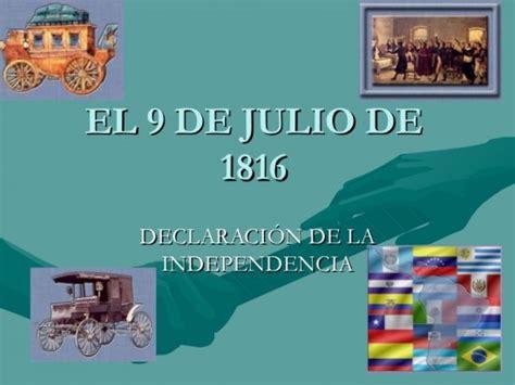 imagenes medicas computadas 9 de julio informaci 243 n sobre el d 237 a de la independencia argentina