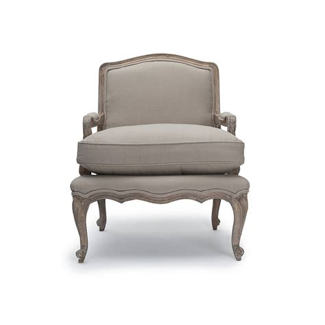 rochelle french armchair rochelle putty french armchair by within home notonthehighstreet com