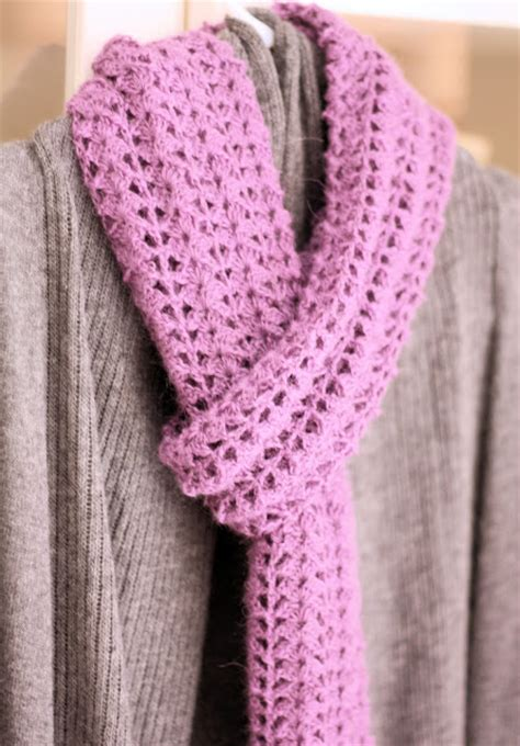 crocheted scarf free pattern a spoonful of sugar