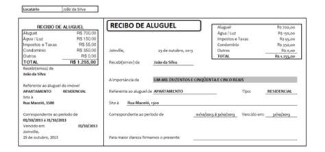 modelo de recibos de aluguel comercial e residencial modelos prontos de recibo para aluguel comercial s 243