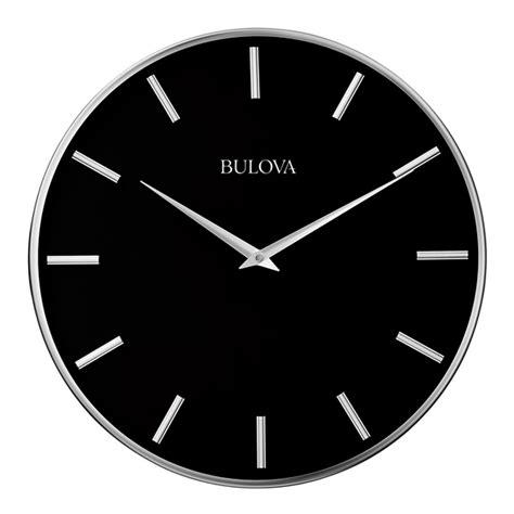 Wall Clocks Modern by Metro 16 Quot Modern Wall Clock Bulova C4849 Clockshops