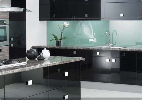 black gloss kitchen ideas 綷 崧 寘綷 寘 綷