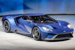 Ford Gt 2015 Ford Gt At 2015 Detroit Auto Show Front Three Quarter