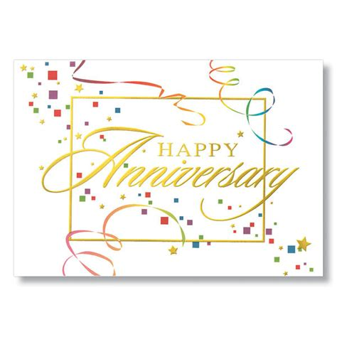 free printable anniversary cards for employee anniversary streamers employee anniversary card