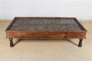 Indian Coffee Table Large Anglo Indian Coffee Table Lot 332