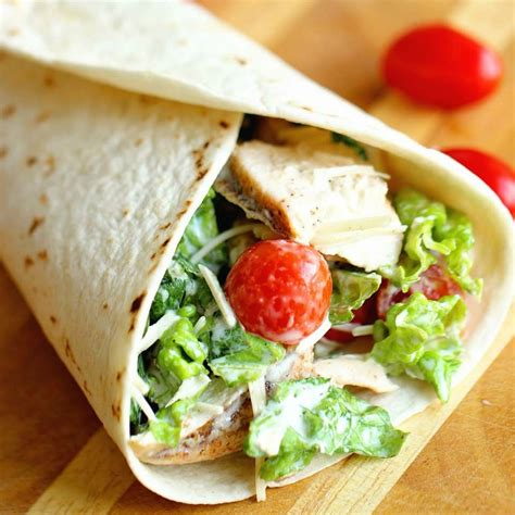 Wich Of The Week Chicken Caesar Wraps by Chicken Caesar Wrap Diary Of A Recipe Collector