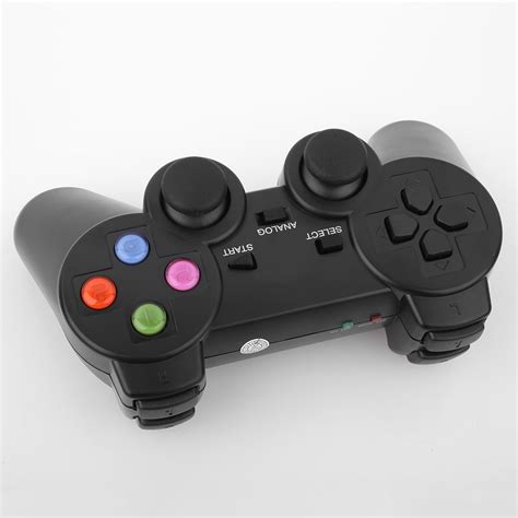 Joystick Usb Wireless 2x 2 4g usb wireless dual vibration gamepad controller joystick for pc laptop ebay