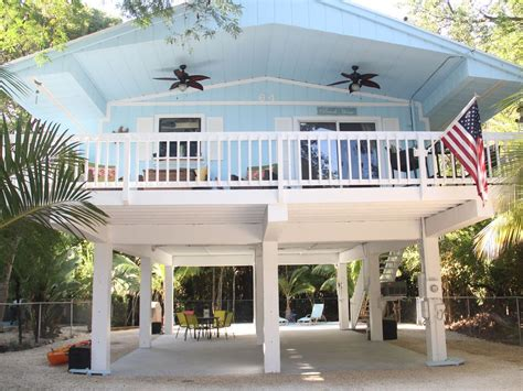 Small Beach House On Stilts Beach House In Key Largo Fl Sleeps 7 Vrbo