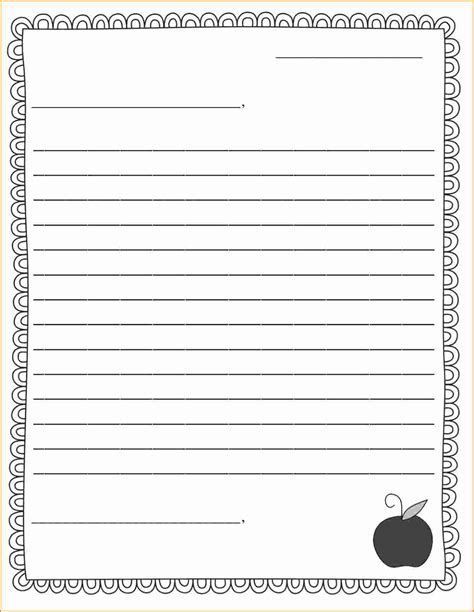 9 Friendly Letter Format Printable Invoice Template Download Letter Template Printable
